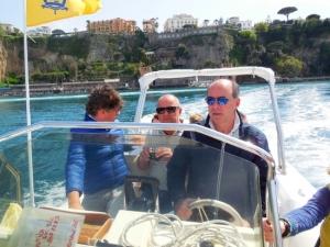 Zakelijke groepsreis - boot tour capri 2