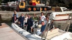 Zakelijke groepsreis - boot tour 1