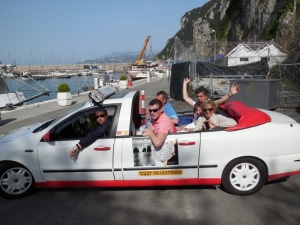 Corporate event - capri tour