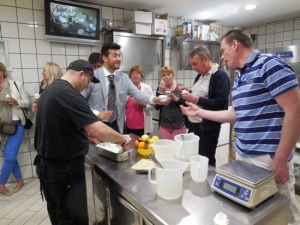 Corporate event - Gelato making