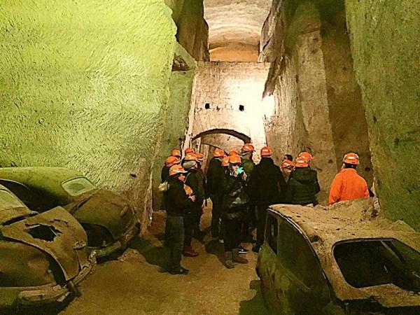 Zakelijke groepsreis - grot activiteit 3