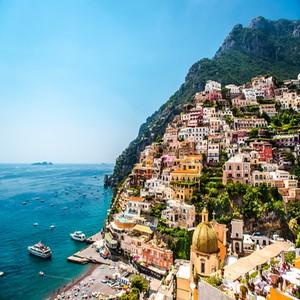 Positano Amalfi kust