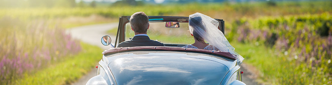 wedding car italie