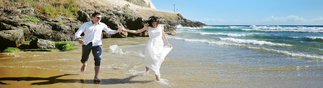 wedding italie beachwalk