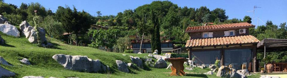 agriturismo sorrento groene tuin