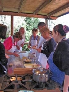 Zakelijke groepsreis - activiteit koken
